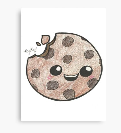 Cookie Kawaii Canvas Print