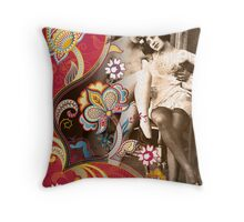 Goddesses Throw Pillow