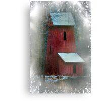 First Snowfall This Season Canvas Print