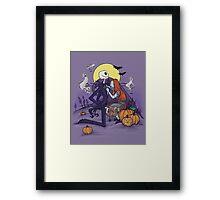 Halloween Hero Framed Print