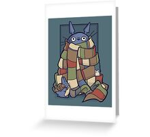 Totowho Greeting Card