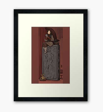 To Find a Way Out Framed Print