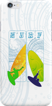Surf (IPhone Case) by Antonio  Luppino