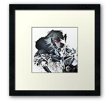 Metal Gear Raiden Framed Print