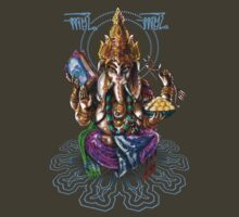 Ganesha, patron of arts and sciences by helljester