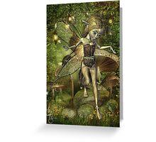 Annwfn of the Wood Greeting Card