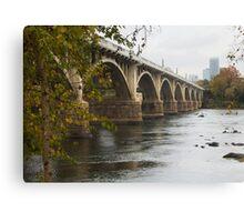 Gervais Street Bridge, Columbia, SC Canvas Print