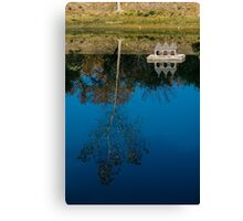 Beautiful day by the Pond in Russian River Valley Canvas Print
