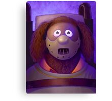 Muppet Maniac - Rowlf Lecter Canvas Print