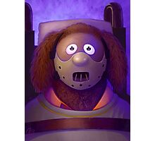 Muppet Maniac - Rowlf Lecter Photographic Print