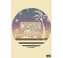 Sonic 2 - Casino Night Zone (Distressed) Photographic Print