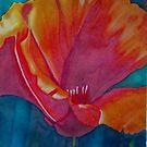 Red Bloom by WienArtist
