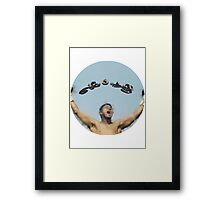 The Greatest Of All Times  Framed Print