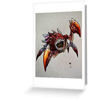 The Devil in the Dark Greeting Card