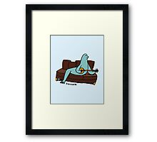Seal it with a Banjo Song. Framed Print