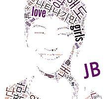 GOT7 JB Word Art by kpoplace