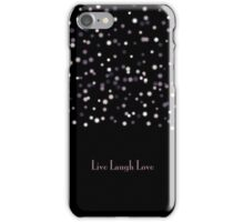 live laugh love case iPhone Case/Skin