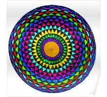 Multi-Colored Mandala Poster