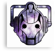 Cyberman From Space Canvas Print