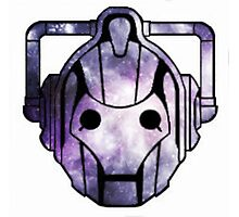 Cyberman From Space Photographic Print