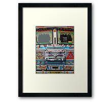 Mumbai Truck Framed Print