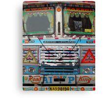 Mumbai Truck Canvas Print