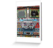 Mumbai Truck Greeting Card
