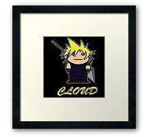 Cloud (Demonoid) Framed Print