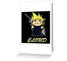 Cloud (Demonoid) Greeting Card