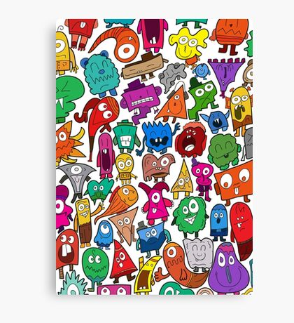 The Shapely Bunch Canvas Print