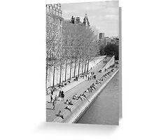 Springtime in Paris Greeting Card