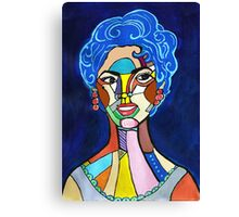 Hollywood Diva Canvas Print