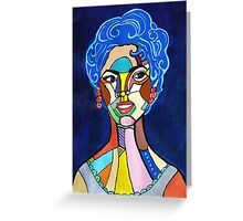 Hollywood Diva Greeting Card