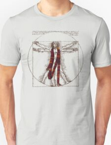 "Da Vinci Meets the Doctor - ""Reds"" (for Light T-shirts) T-Shirt"