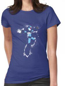 Mega Man X Splatterfest Womens Fitted T-Shirt