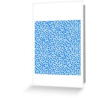 Double bubble dots Greeting Card