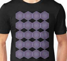 Purple Kaleidoscope Unisex T-Shirt