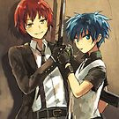 Assassination Classroom by banafria