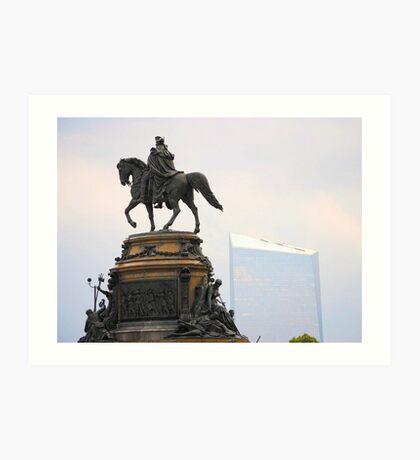 Washington Memorial Fountain Art Print