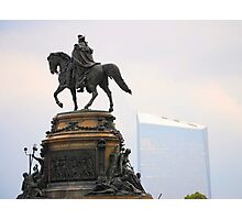 Washington Memorial Fountain Photographic Print