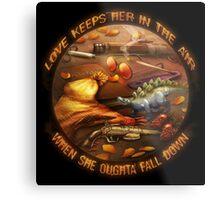 Love Keeps Her In The Air Metal Print