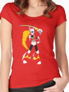 Splattery Maverick Hunter Zero  Women's Fitted Scoop T-Shirt