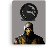 Mortal Kombat Canvas Print