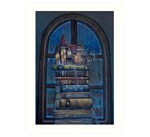 Castle Book Art Print