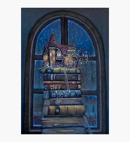Castle Book Photographic Print