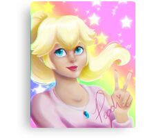 Peach Princess Metal Print