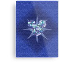 Diamond Mickey Metal Print