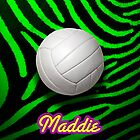 Volleyball Zebra - iPhone Case by Christopher Herrfurth