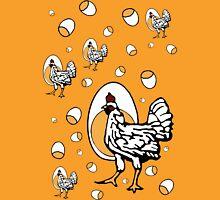 Retro Chickens Womens T-Shirt