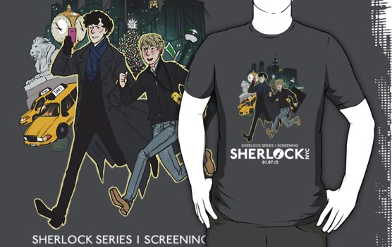 Sherlock NYC -  SCREENING - Day (White Logo)  by SherlockNYC